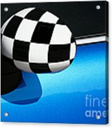 Checkered Finish Acrylic Print