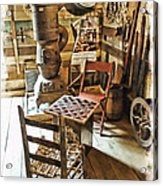 Checkers At The General Store Acrylic Print