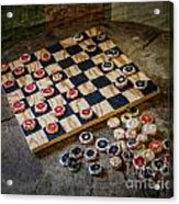 Checkers Acrylic Print