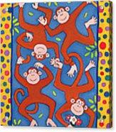 Cheeky Monkeys Wc Acrylic Print