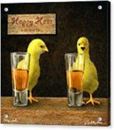 Cheep Shots... Acrylic Print