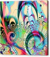 Cheer Brigade Acrylic Print