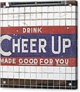 Cheer Up Acrylic Print