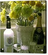 Cheers For The New Year Acrylic Print