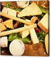 Cheese And Fruit Acrylic Print