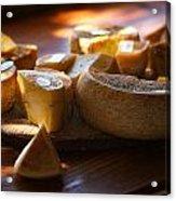 Cheese Selection Acrylic Print