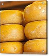 Cheese Wheels Acrylic Print