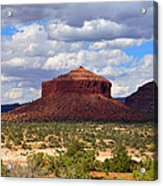 Cheesebox Mesa Acrylic Print