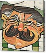 Chef Guido Acrylic Print