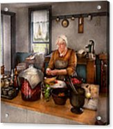 Chef - Kitchen - Cleaning Cherries  Acrylic Print