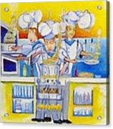Chef's Kitchen Acrylic Print