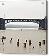 Chehalis River Aberdeen Wa Acrylic Print