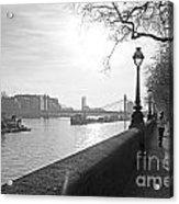 Chelsea Embankment London Uk 3 Acrylic Print
