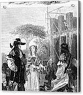 Chelsea Hospital, 1682 Acrylic Print
