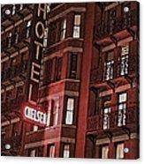 Chelsea Hotel Acrylic Print