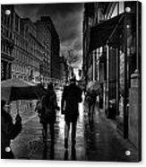 Chelsea Rain Acrylic Print