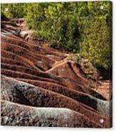 Mars On Earth - Cheltenham Badlands Ontario Canada Acrylic Print