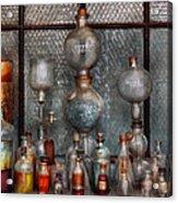Chemist - The Apparatus Acrylic Print by Mike Savad