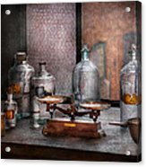 Chemist - The Art Of Measurement Acrylic Print by Mike Savad
