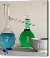 Chemistry Class Acrylic Print