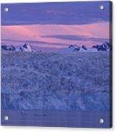 Chenega Glacier At Sunrise Acrylic Print