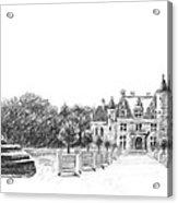 Chenonceau Entrance Acrylic Print