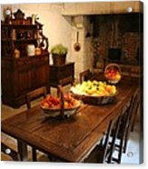 Chenonceau Kitchen  Acrylic Print
