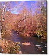 Cherokee River Acrylic Print