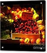 Cherries 299 A Pound Acrylic Print