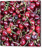 Cherries In Des Moines Washington Acrylic Print