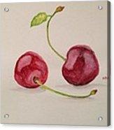 Cherries Acrylic Print