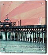 Cherry Grove Fishing Pier Acrylic Print
