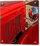 Cherry Red Ford Acrylic Print