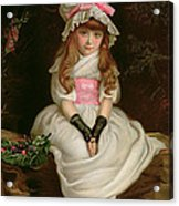 Cherry Ripe Acrylic Print by Sir John Everett Millais