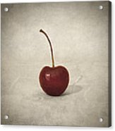 Cherry Acrylic Print by Taylan Apukovska
