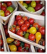Cherry Tomatos Acrylic Print