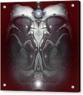 Cherub 7 Acrylic Print by Otto Rapp