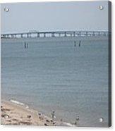 Chesapeake Bay Bridge - Tunnel Acrylic Print