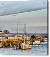 Chesapeake Fishing Boats Acrylic Print