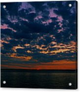 Chesapeake Sunset Clouds Acrylic Print