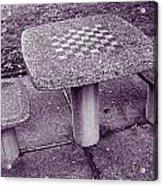 Chess Anyone Acrylic Print