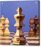 Chess Corporate Merger Acrylic Print by Colin and Linda McKie