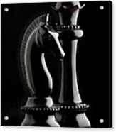 Chess IIi Acrylic Print by Tom Mc Nemar