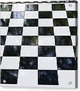 Chess In The Park Acrylic Print