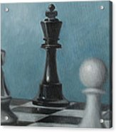 Chess Pieces Acrylic Print