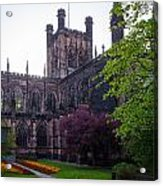 Chester Cathedral Acrylic Print