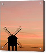 Chesterton Windmill Acrylic Print by Anne Gilbert