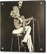 Chet Adkins 1975 Acrylic Print