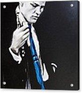Chet Baker - Almost Blue Acrylic Print