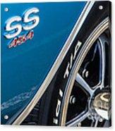 Chevelle Ss 454 Badge Acrylic Print